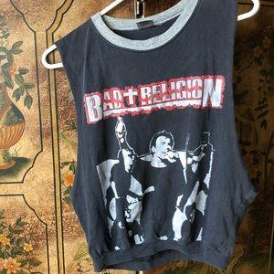 Bad Religion Vintage Worn Crop